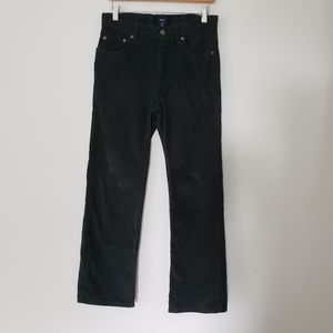 GAP Kids Denim Stretch Green Cords Corduroy Pants